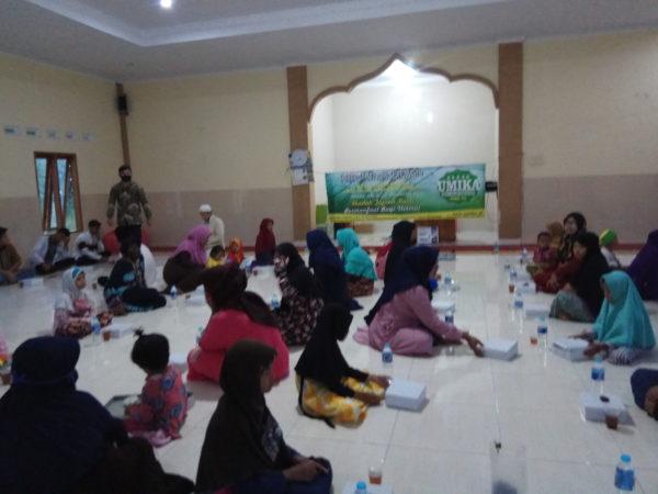 UMIKA, DKM dan Ratwah Indonesia Menyelenggarakan Iftar Jama'i